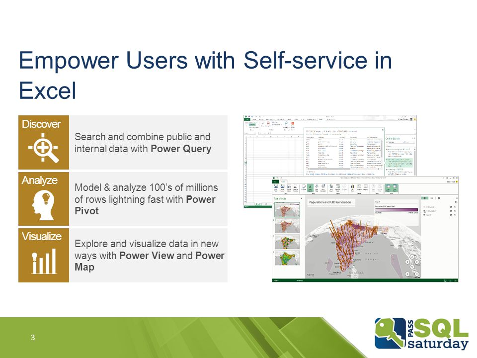 Empower Users with Self-service in Excel