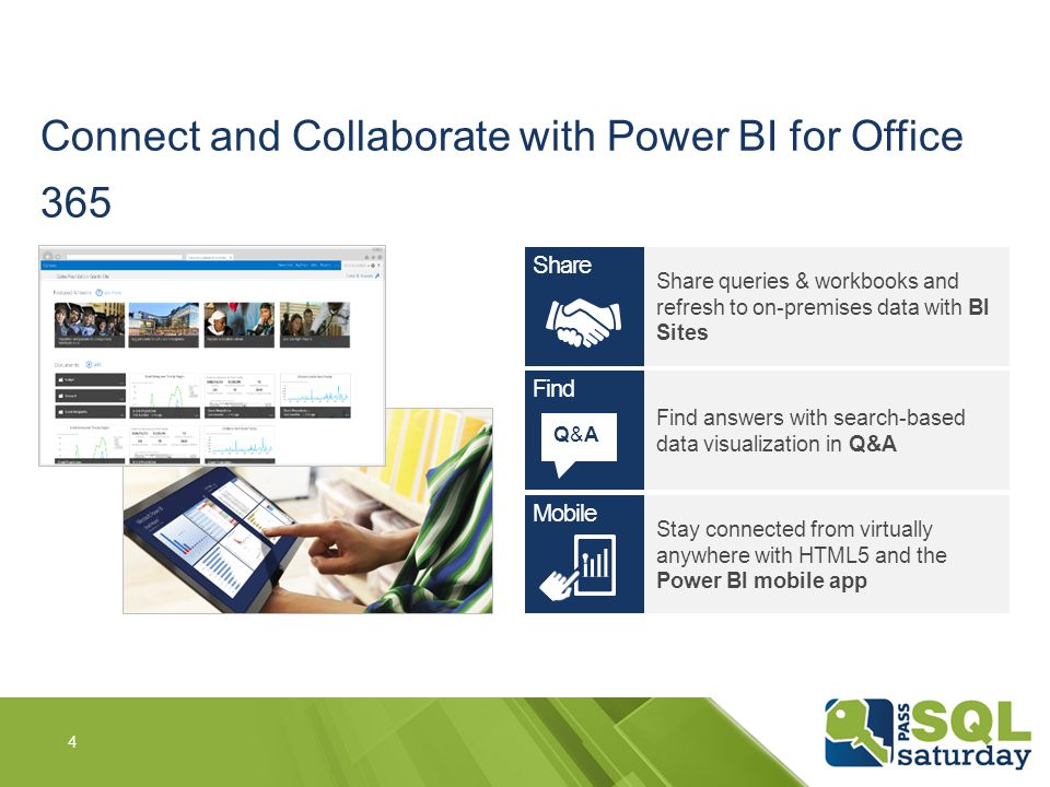 Connect and Collaborate with Power BI for Office 365