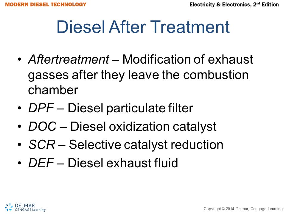 Diesel After Treatment
