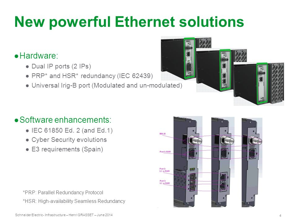 New powerful Ethernet solutions