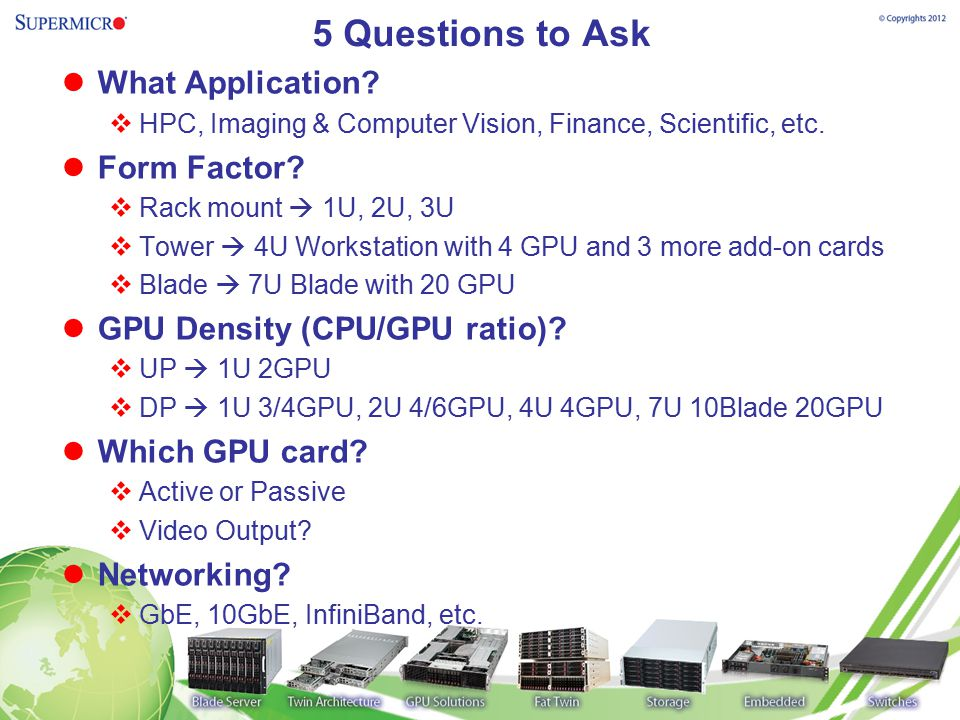 5 Questions to Ask What Application Form Factor