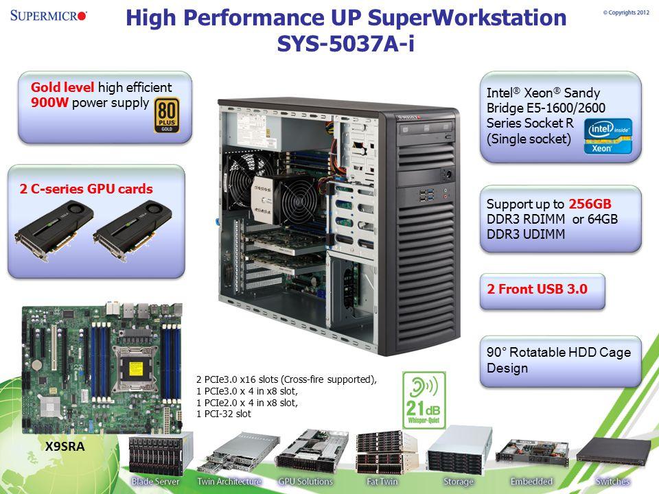 High Performance UP SuperWorkstation