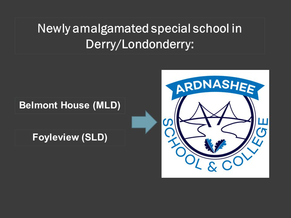 Newly amalgamated special school in Derry/Londonderry: