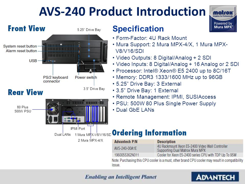 AVS-240 Product Introduction