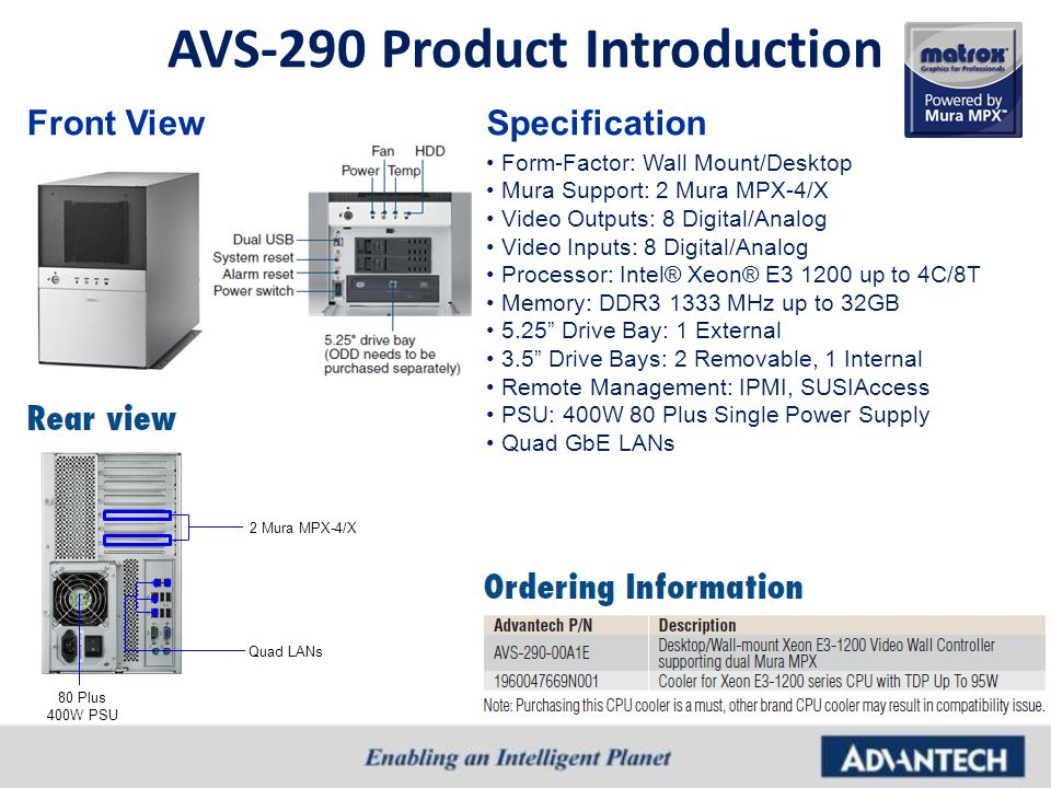 AVS-290 Product Introduction