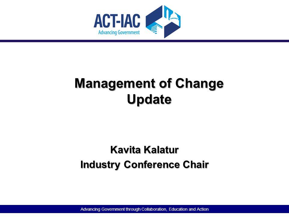 Management of Change Update