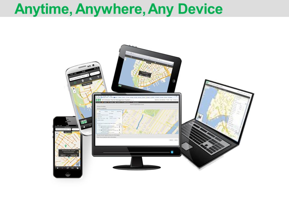 Anytime, Anywhere, Any Device