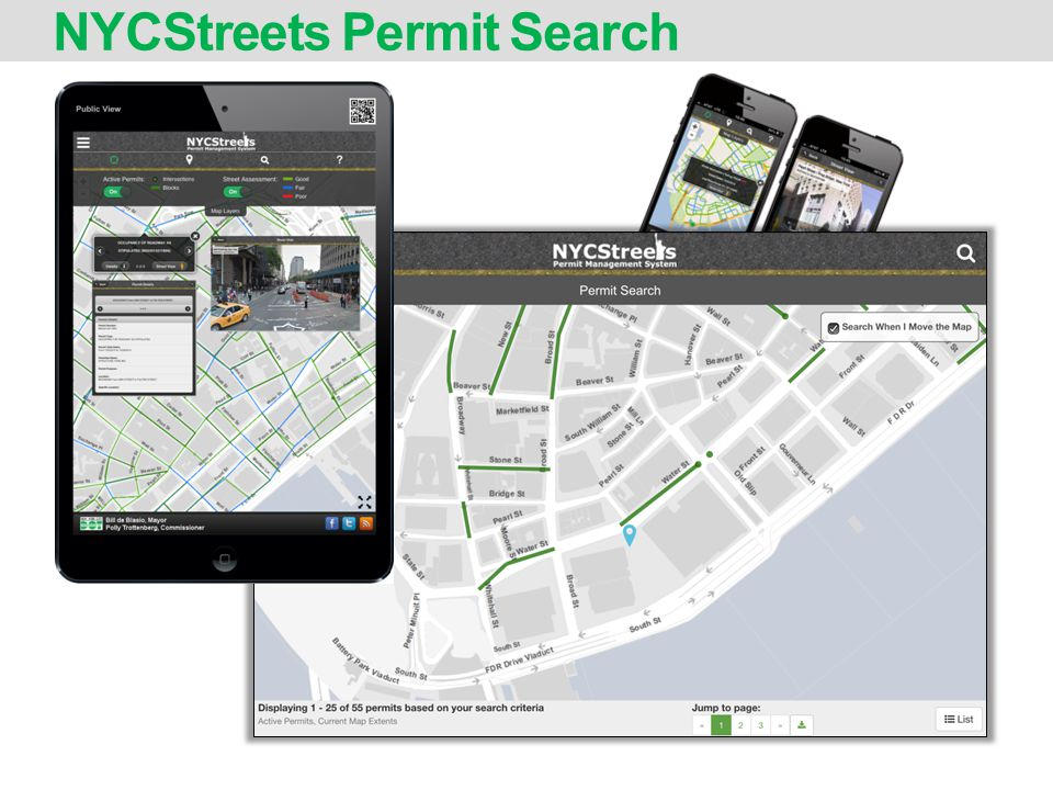NYCStreets Permit Search