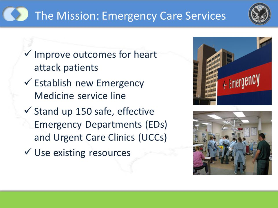 The Mission: Emergency Care Services