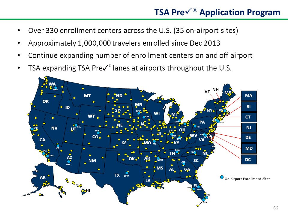 TSA Pre® Application Program