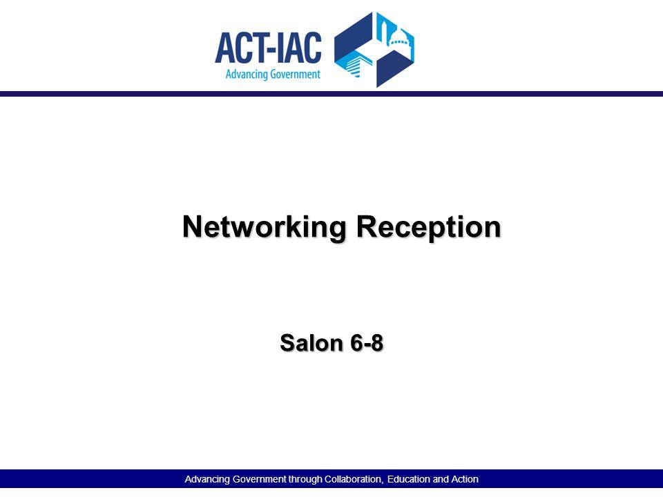 Networking Reception Salon 6-8