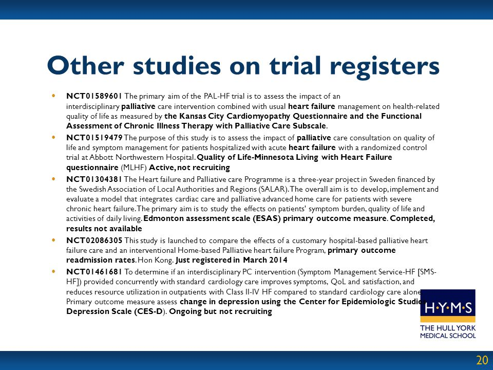 Other studies on trial registers