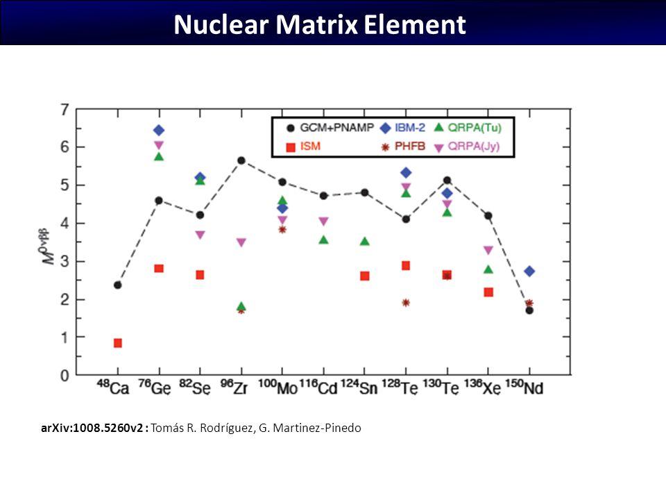 Nuclear Matrix Element