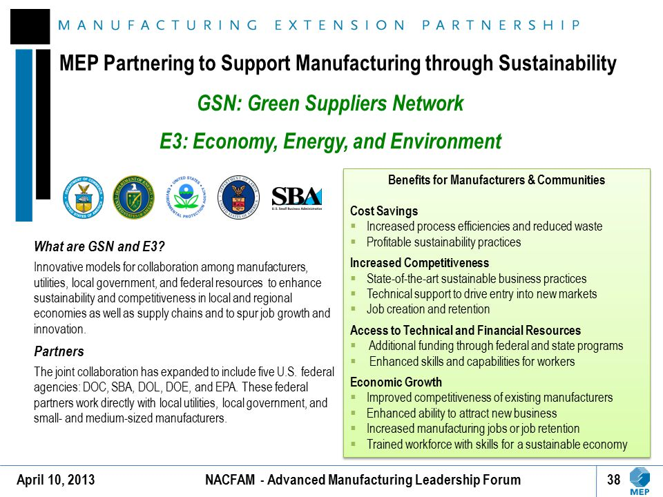 GSN: Green Suppliers Network E3: Economy, Energy, and Environment