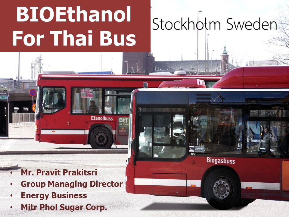 BIOEthanol For Thai Bus