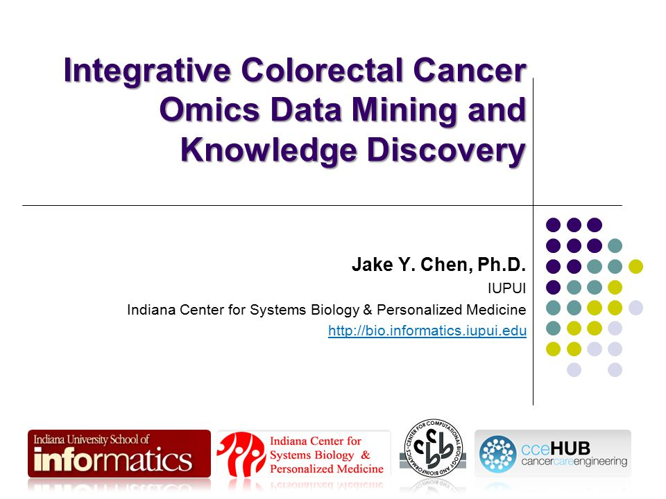 Integrative Colorectal Cancer Omics Data Mining and Knowledge Discovery