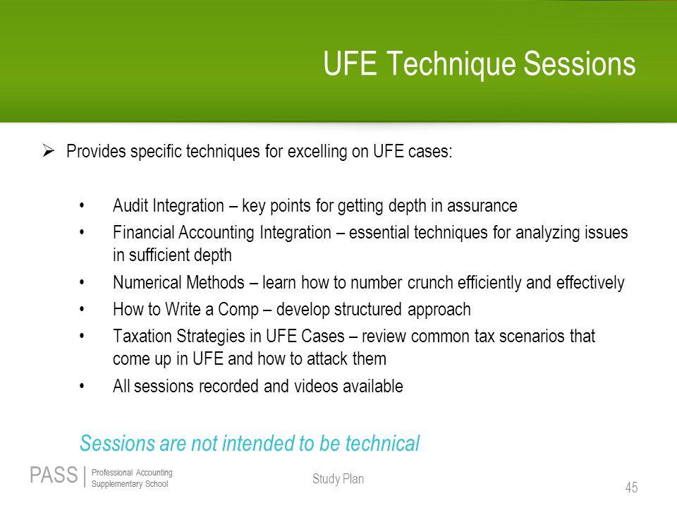 UFE Technique Sessions