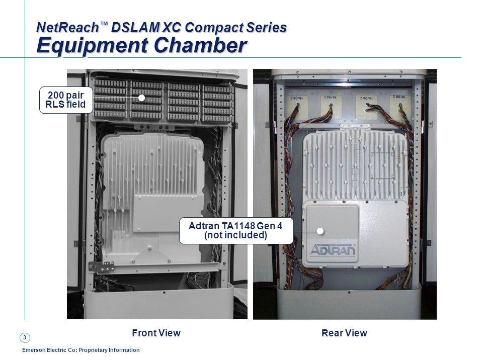 NetReach™ DSLAM XC Compact Series Equipment Chamber