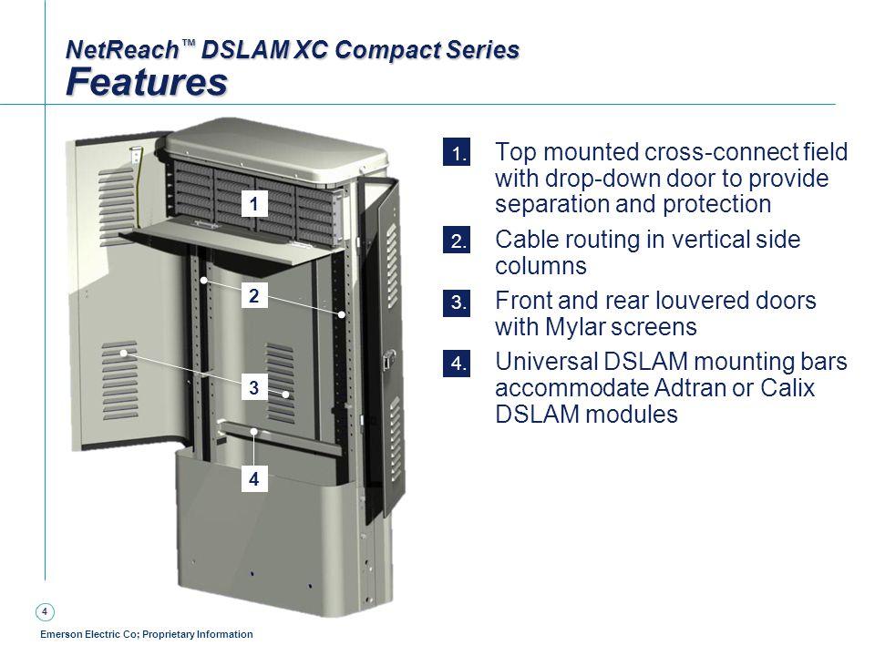 NetReach™ DSLAM XC Compact Series Features