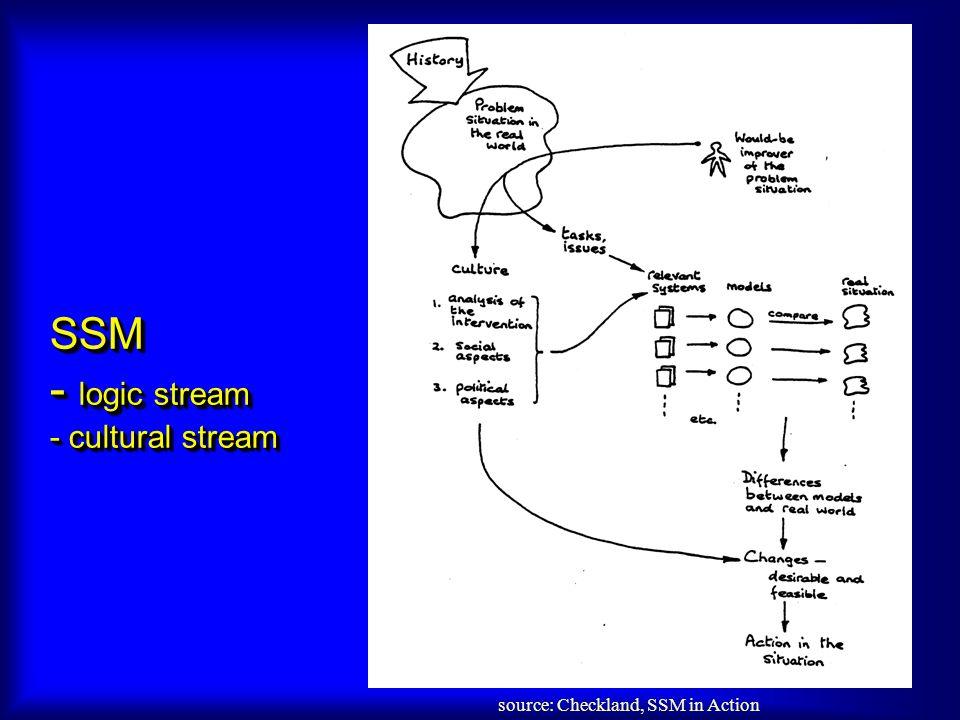 SSM - logic stream - cultural stream