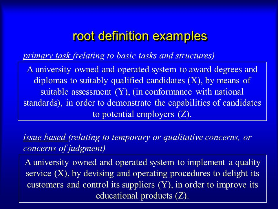root definition examples