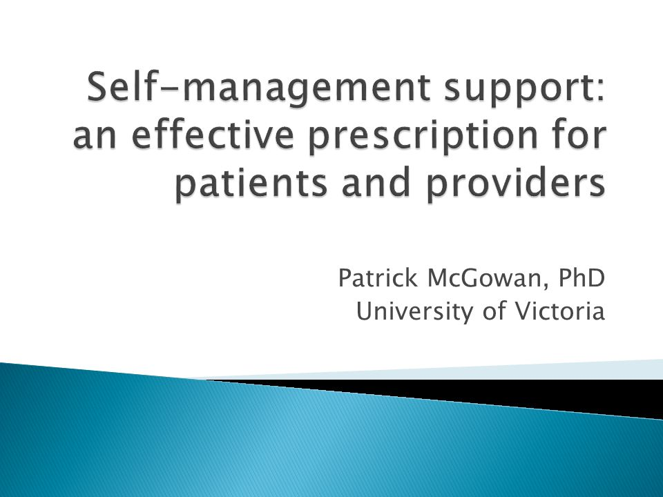 Patrick McGowan, PhD University of Victoria