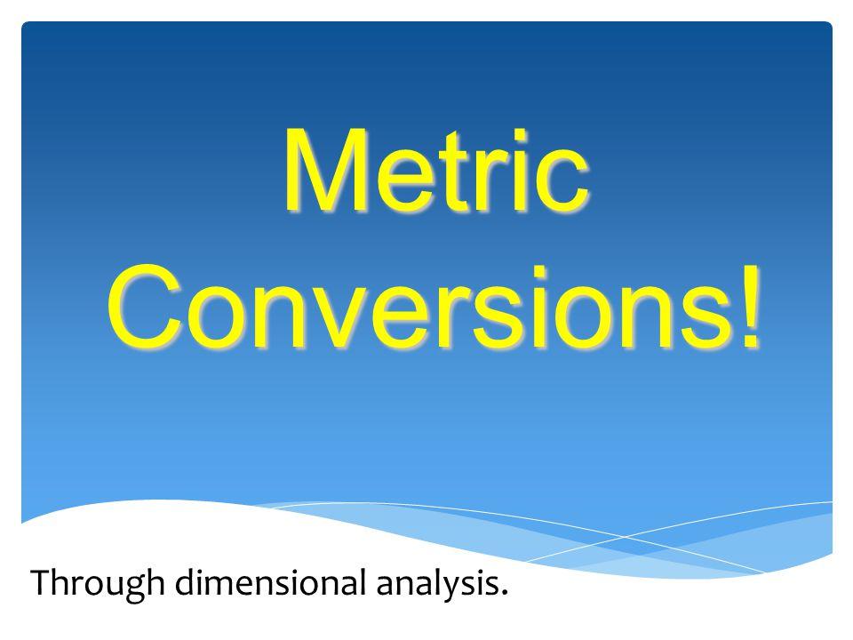 Through dimensional analysis.