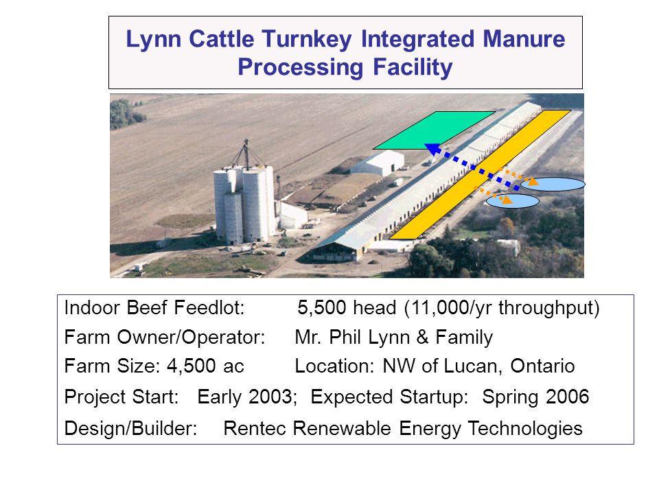 Lynn Cattle Turnkey Integrated Manure Processing Facility