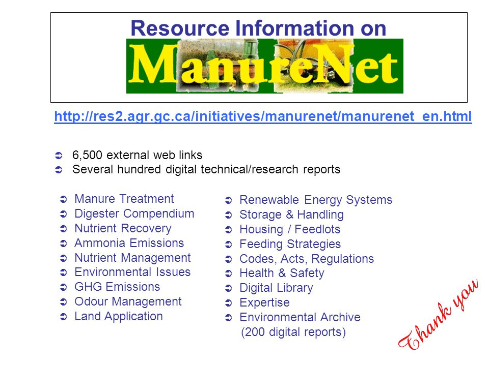 Resource Information on