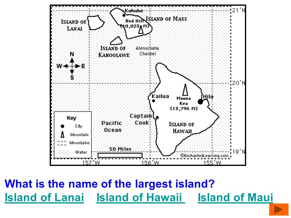 What is the name of the largest island