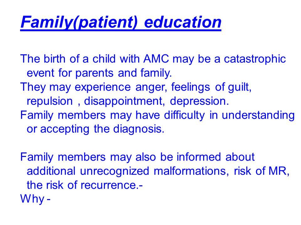 Family(patient) education