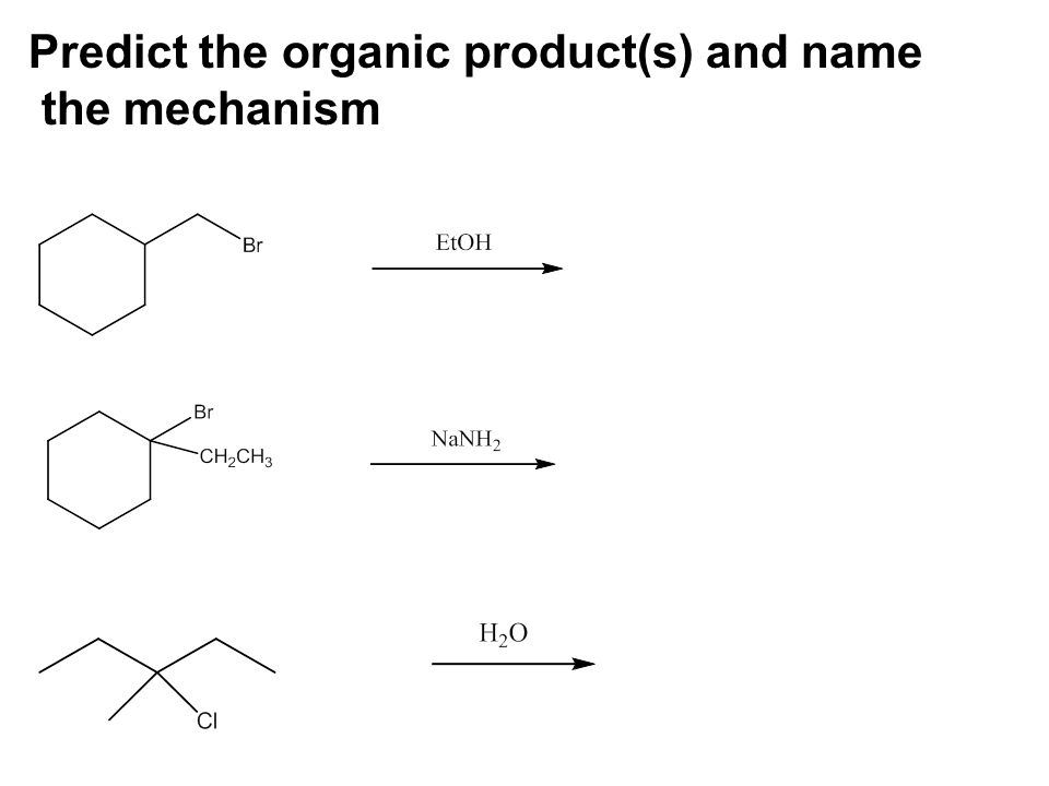 Predict the organic product(s) and name