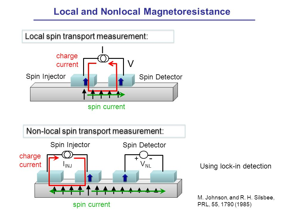Local and Nonlocal Magnetoresistance