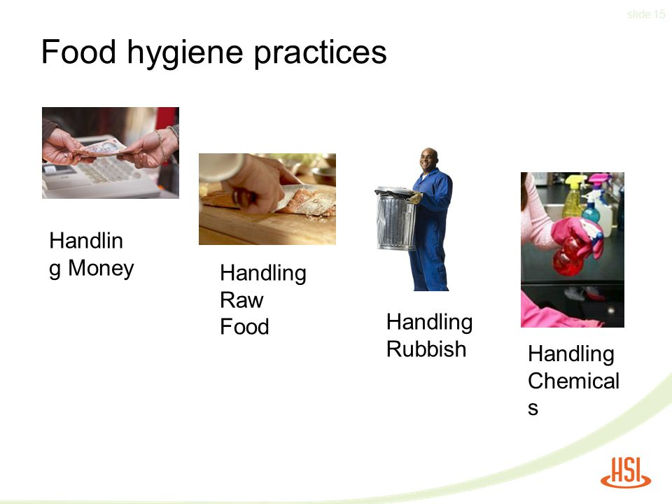 Food hygiene practices