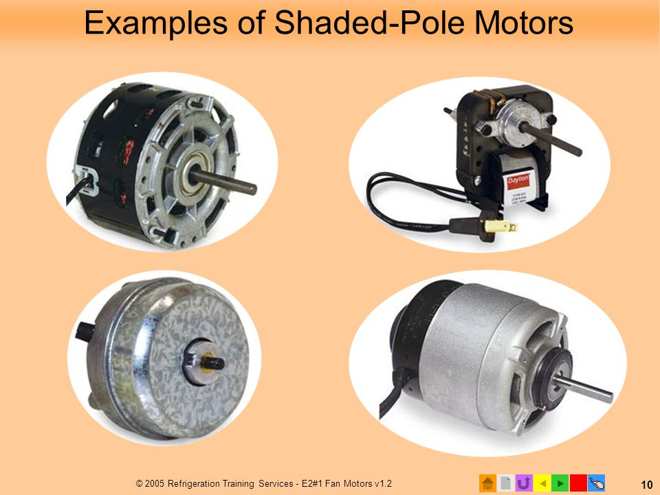 Examples of Shaded-Pole Motors