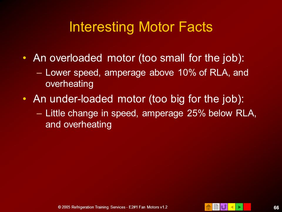 Interesting Motor Facts