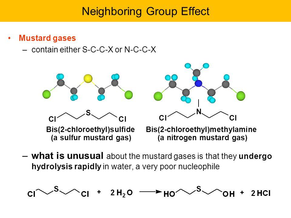 Neighboring Group Effect