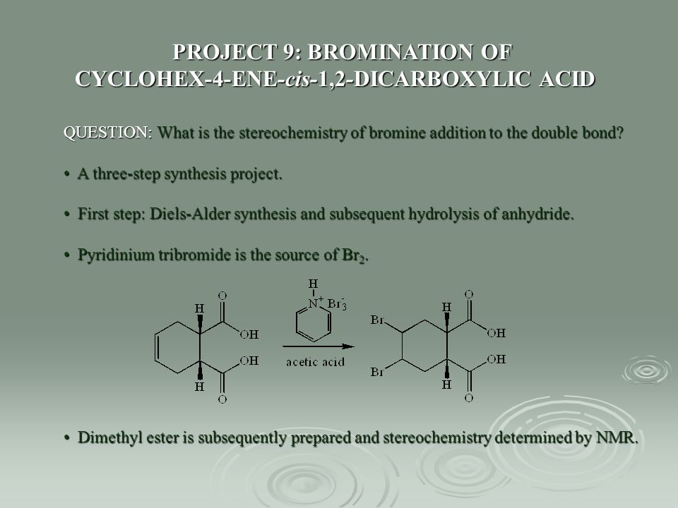 PROJECT 9: BROMINATION OF