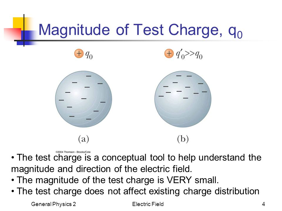 Magnitude of Test Charge, q0