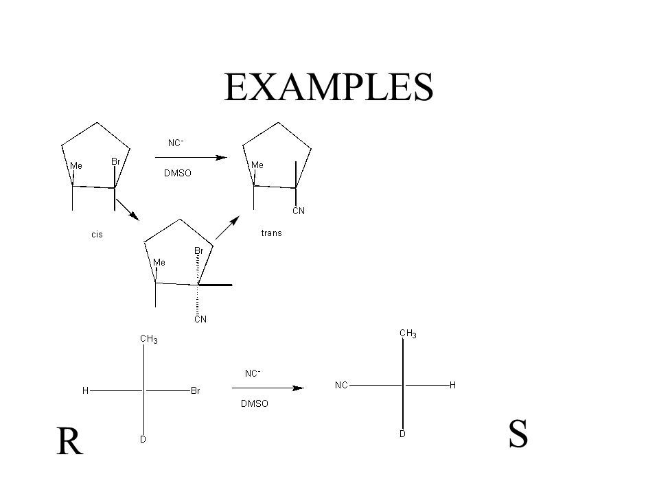 EXAMPLES S R
