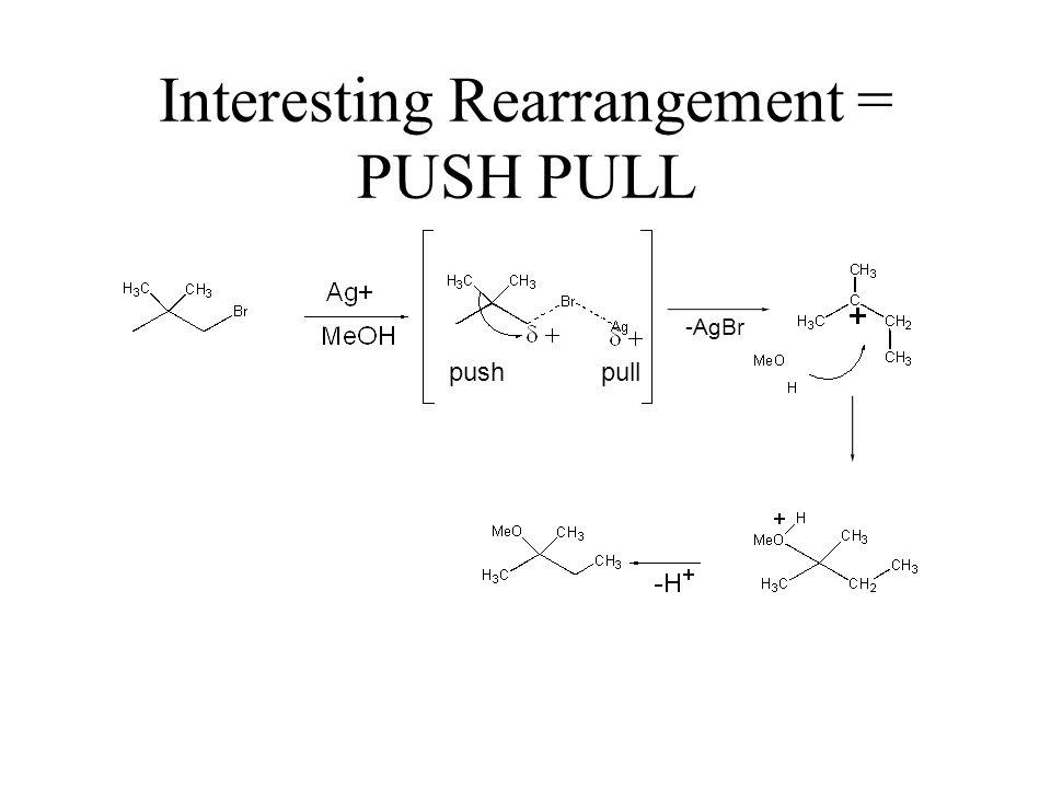 Interesting Rearrangement = PUSH PULL