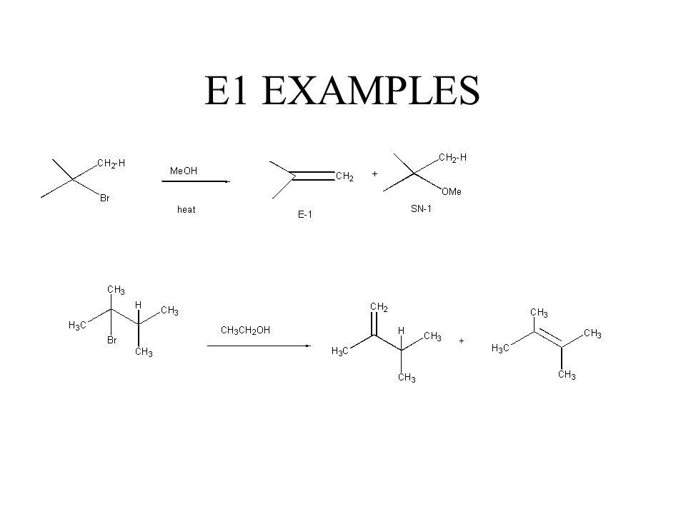 E1 EXAMPLES +