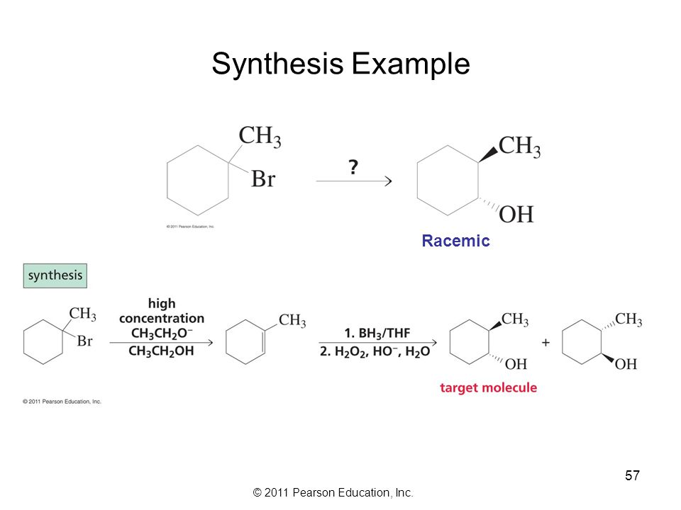 Synthesis Example Racemic