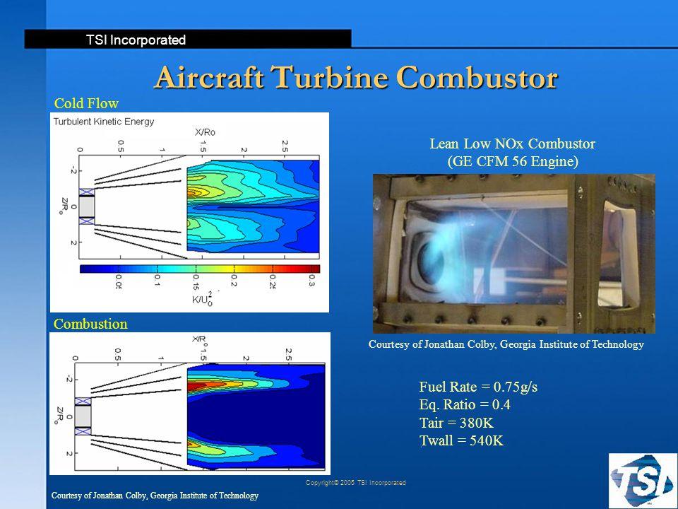 Aircraft Turbine Combustor