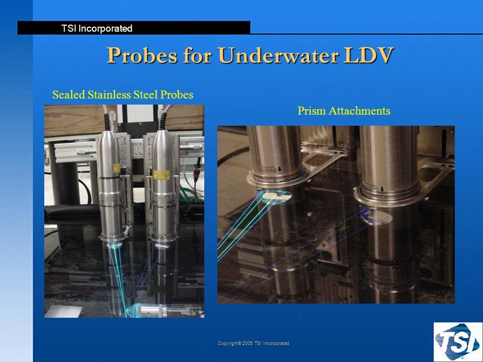 Probes for Underwater LDV