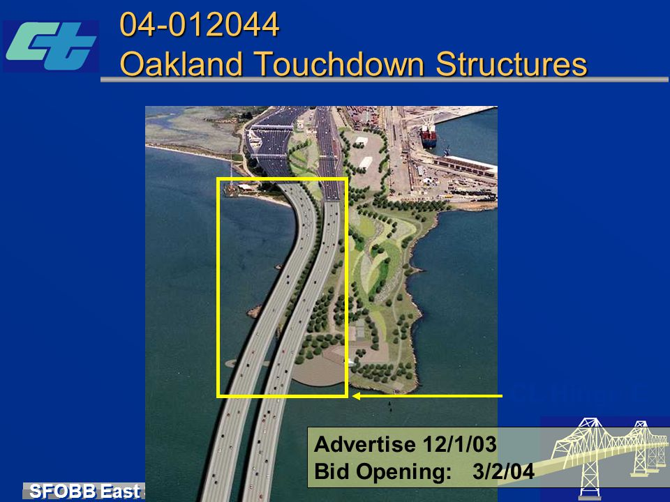 04-012044 Oakland Touchdown Structures