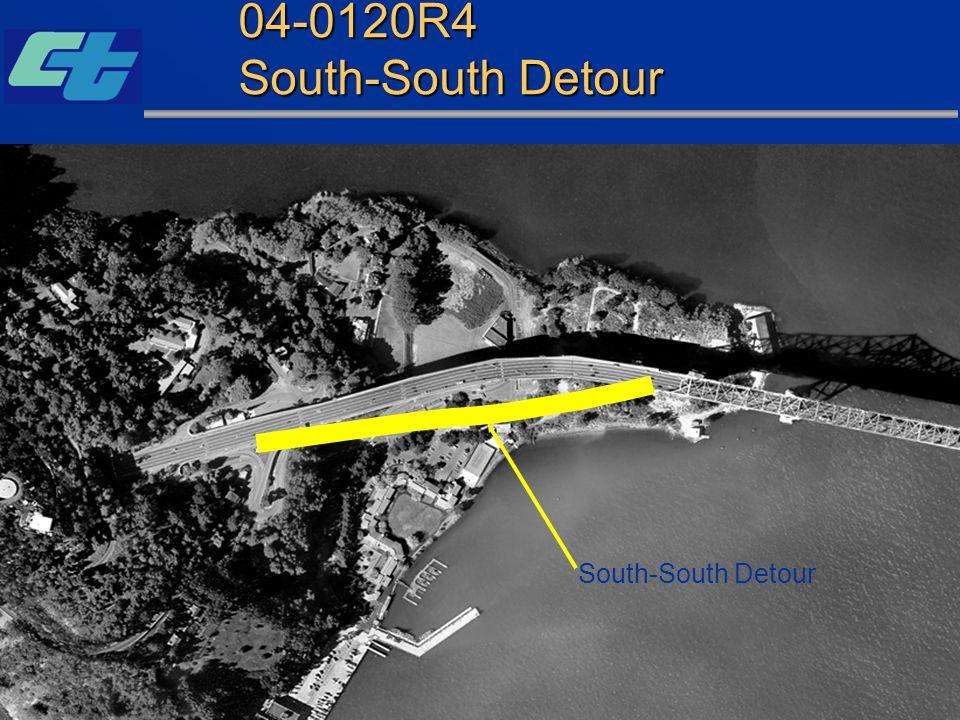 04-0120R4 South-South Detour South-South Detour