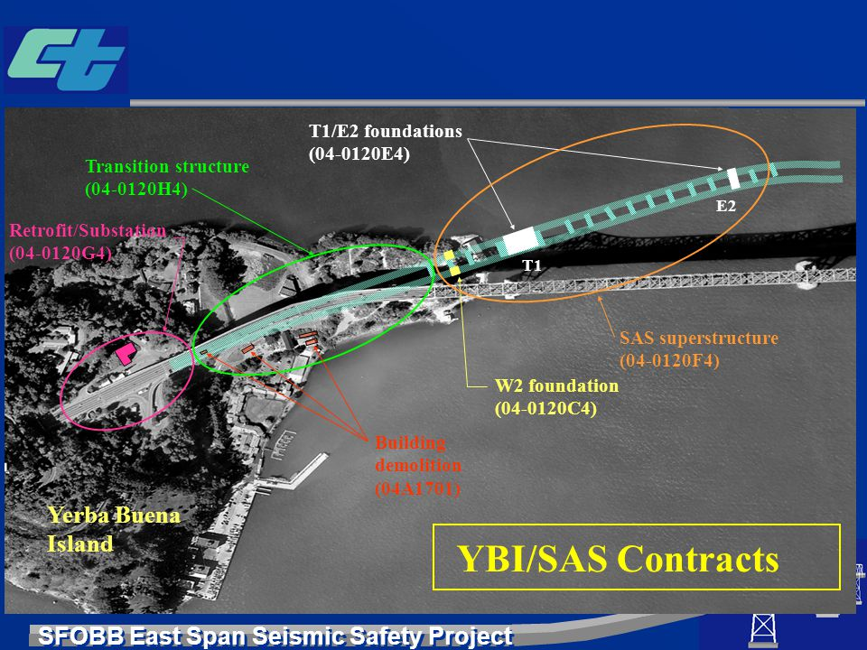 YBI/SAS Contracts Yerba Buena Island T1/E2 foundations (04-0120E4)
