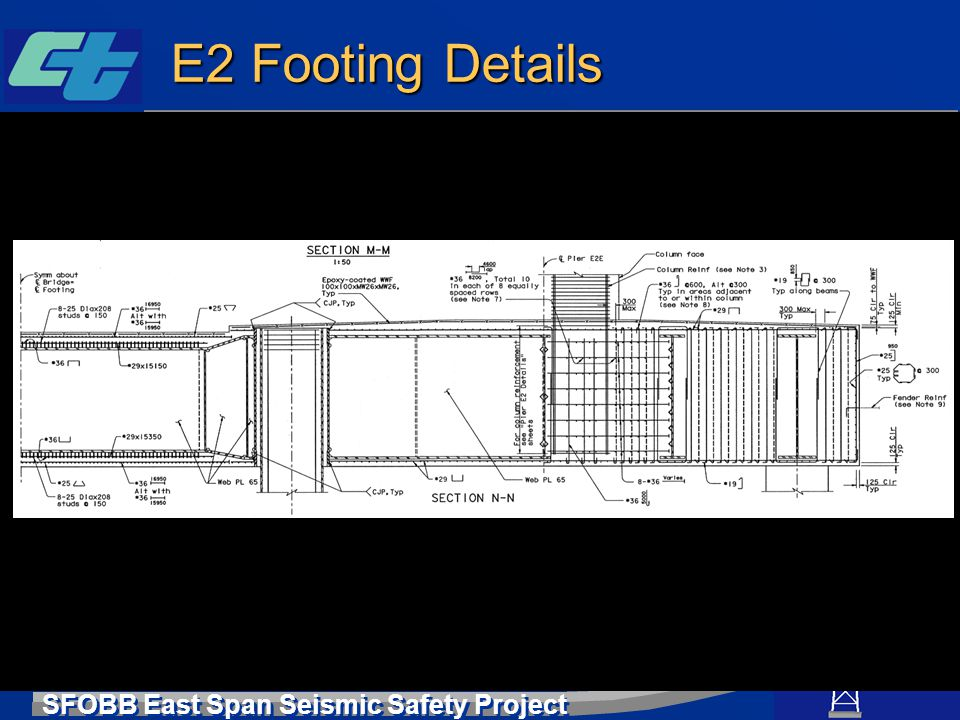 E2 Footing Details
