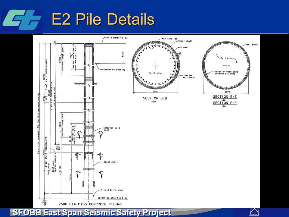 E2 Pile Details